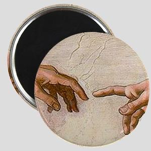 Michelangelo Creation of Adam Magnet