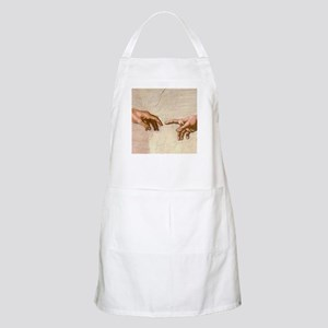 Michelangelo Creation of Adam Apron