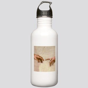 Michelangelo Creation of Adam Water Bottle