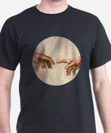 Michelangelo Creation of Adam T-Shirt