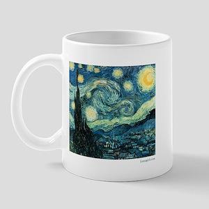 Starry Night Vincent Van Gogh Mug