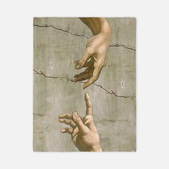 Michelangelo Creation of Adam Twin Duvet