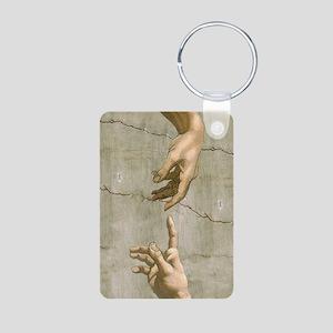 Michelangelo Creation of Adam Keychains