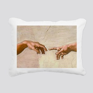 Michelangelo Creation of Adam Rectangular Canvas P