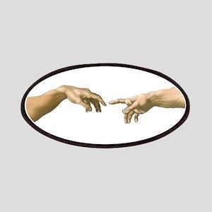 Michelangelo Creation of Adam Patches