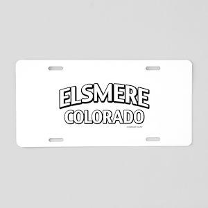 Elsmere Colorado Aluminum License Plate