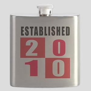 Established 2010 Flask