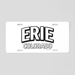 Erie Colorado Aluminum License Plate