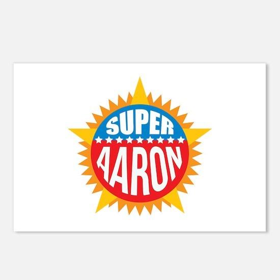 Super Aaron Postcards (Package of 8)