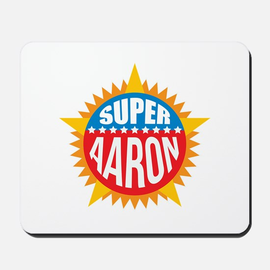 Super Aaron Mousepad