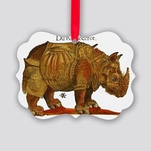 Rhino Durers Rhinoceros Vintage Ornament