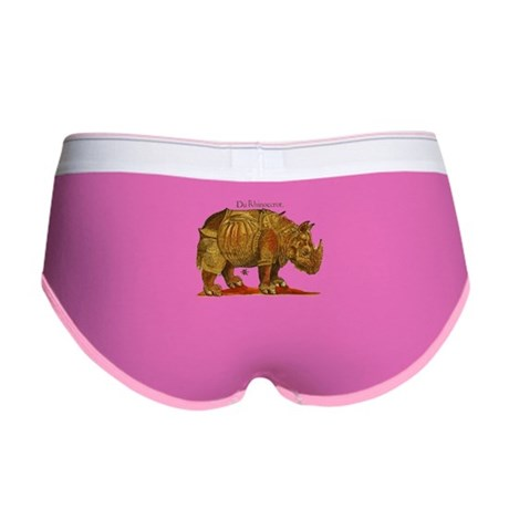 Rhino Durers Rhinoceros Vintage Women's Boy Brief