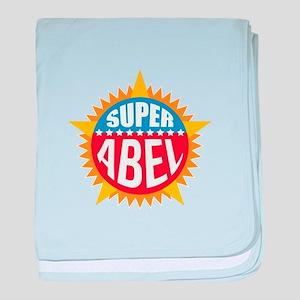 Super Abel baby blanket