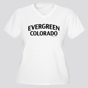 Evergreen Colorado Plus Size T-Shirt