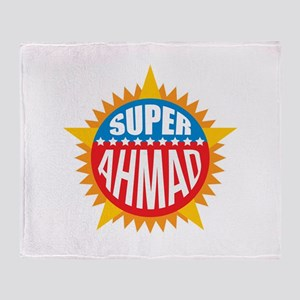 Super Ahmad Throw Blanket