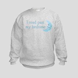 I read past my bedtime Sweatshirt