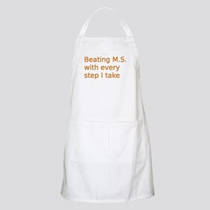 Beating M.S. with every step I take Apron