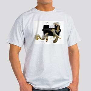 Squirrels at the Piano Light T-Shirt