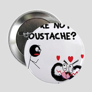 "Moustache Madness 2.25"" Button"