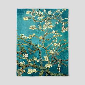 Van Gogh Almond Blossoms Tree Twin Duvet