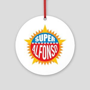 Super Alfonso Ornament (Round)