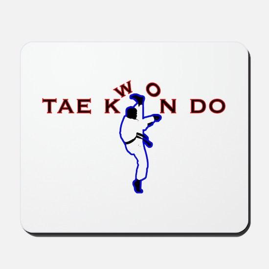 TKD Kicks Mousepad