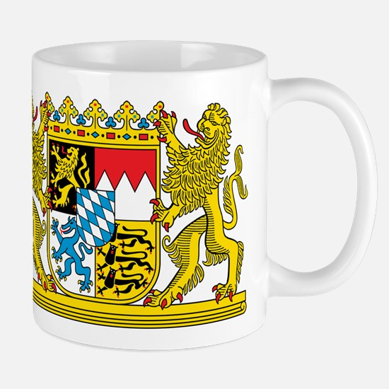 The coat of arms of the German state of Bavaria Mu