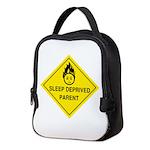 Sleep Deprived Parent Neoprene Lunch Bag