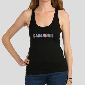 Savannah Pastel Rainbow Racerback Tank Top