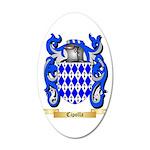 Cipolla 20x12 Oval Wall Decal