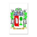 Cinelli Rectangle Car Magnet