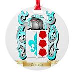 Cincotta Round Ornament