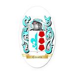Cincotta Oval Car Magnet