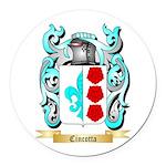 Cincotta Round Car Magnet