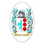 Cincotta Sticker (Oval 50 pk)