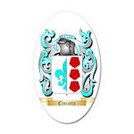 Cincotta 35x21 Oval Wall Decal