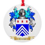 Cimino Round Ornament