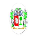 Cicculi Oval Car Magnet