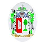 Ciccottini Ornament (Oval)