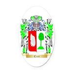 Cicci Oval Car Magnet