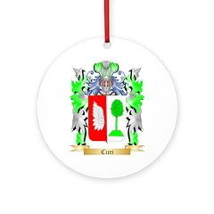 Cicci Ornament (Round)
