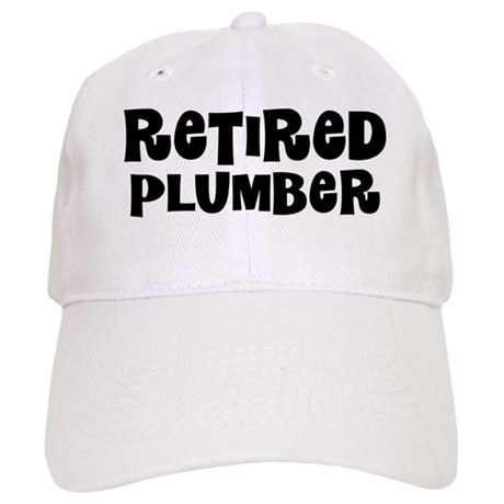 Retired Plumber Gift Baseball Cap