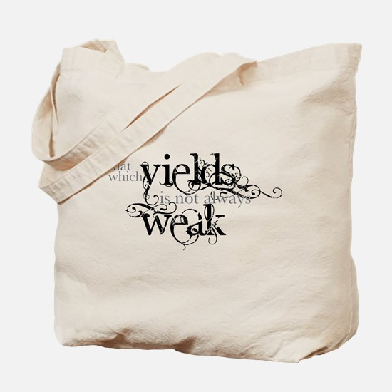 Yielding Tote Bag