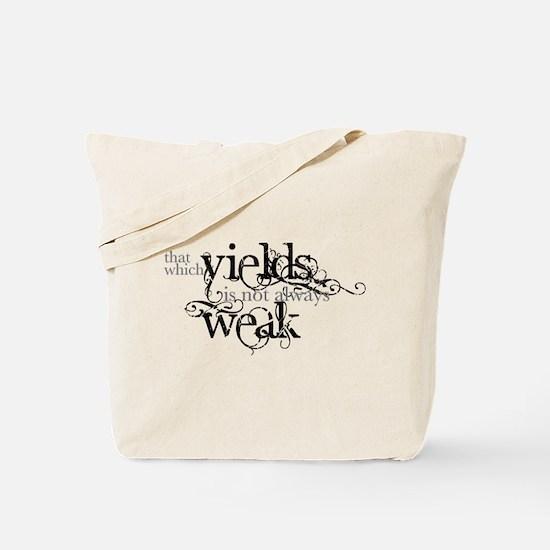 Yielding Tote Bag