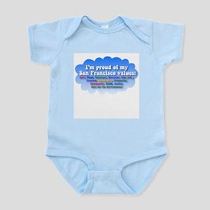 San Francisco Values Infant Bodysuit