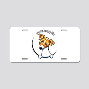 Jack IAAM Off-Leash Art™ Aluminum License Plate