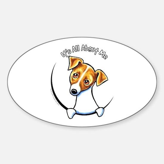Jack IAAM Off-Leash Art™ Sticker (Oval)