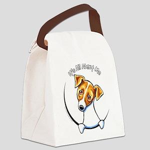 Jack IAAM Off-Leash Art™ Canvas Lunch Bag