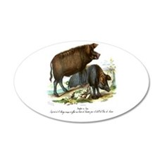 PL1 Pigs Wall Decal