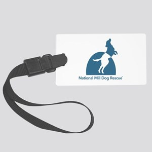 National Mill Dog Rescue Large Luggage Tag